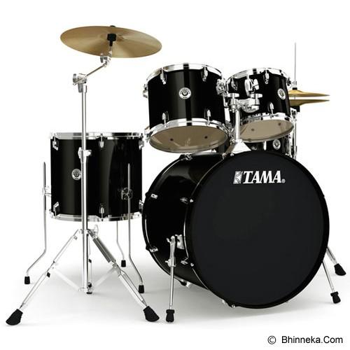 TAMA Swingstar 5pcs Rock Drum Kit [S52KH6] - Black - Drum Kit